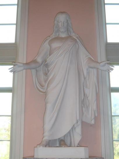 jésus, statue