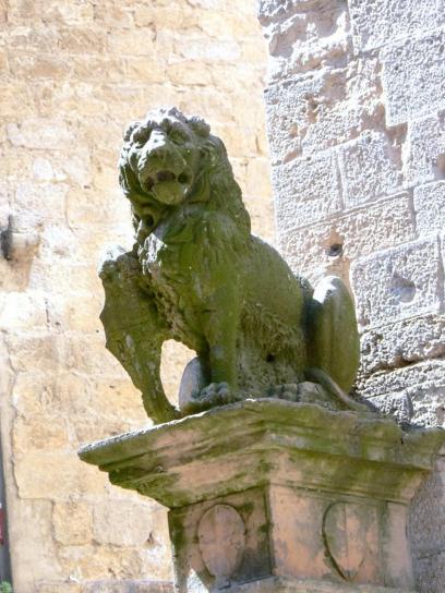 lion, statue
