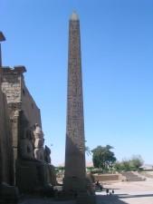 luxor, temple, obelisk