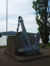 Memorial, ankare, havet, canberra
