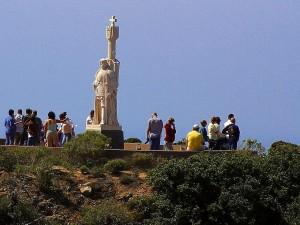 monument, punkt, loma