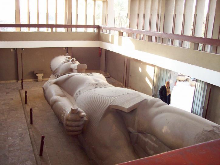 ramses, Egyptian, statues