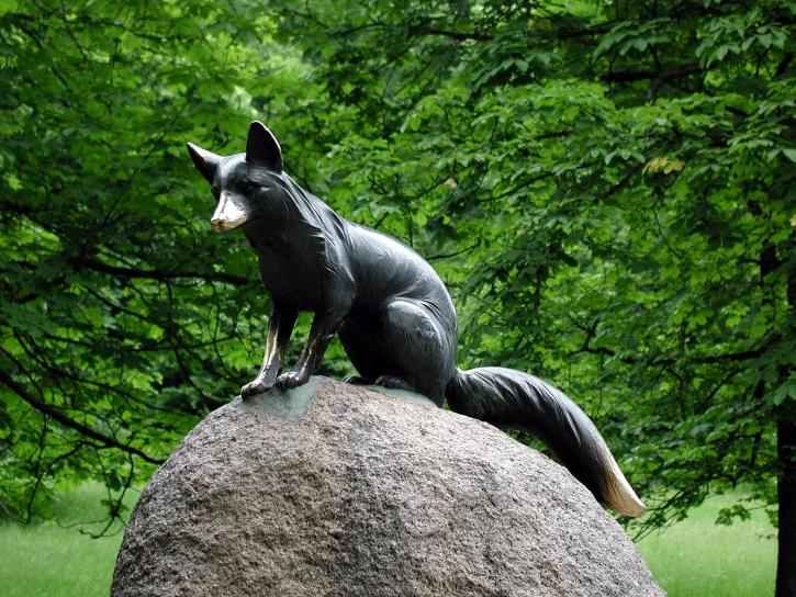 Statuia, fox