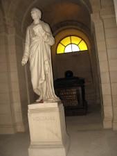 statue, église