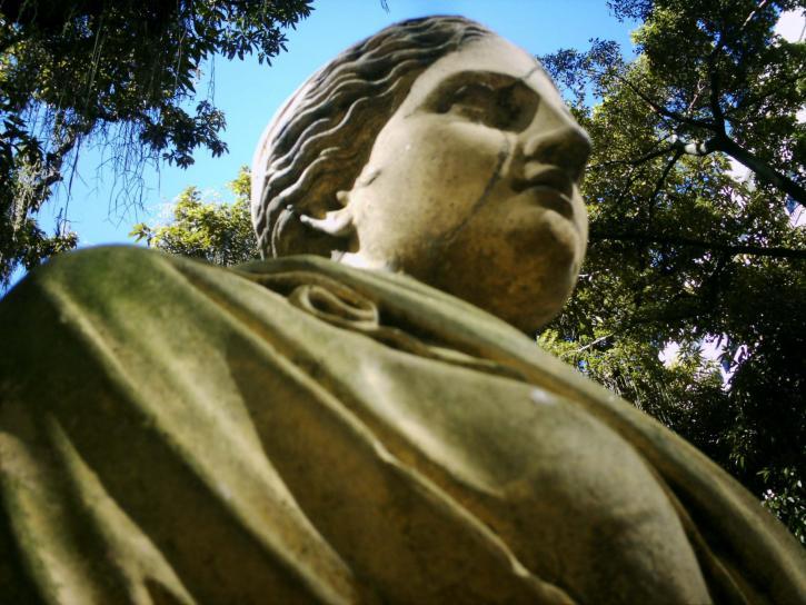 statue, museum