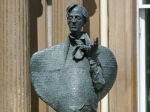 statue, yeats