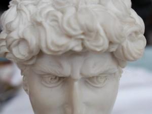 statue, Roman, emperor