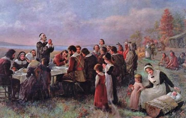 thanksgiving, brownscombe