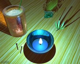 촛불, 작업, 개체