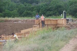 charpentiers, constructeurs, travail