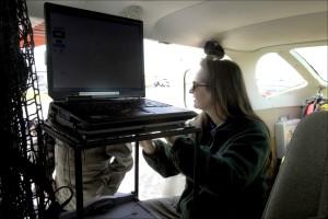 computer, rear, seat, vehicle