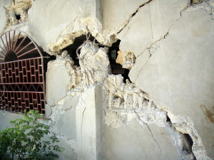 cracks, walls