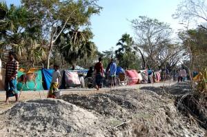 cyclone, affected, village, Barguna, Sadar, Upazila