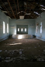 damaged, auditorium, Muthenna, intermediate, school
