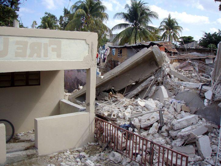 verheerend, strukturelle Schäden, zugefügt, Erdbeben