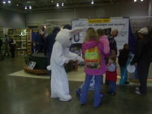 Easter, bunny, entertainer