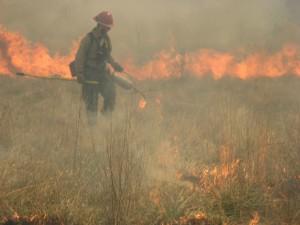 pompier, le feu