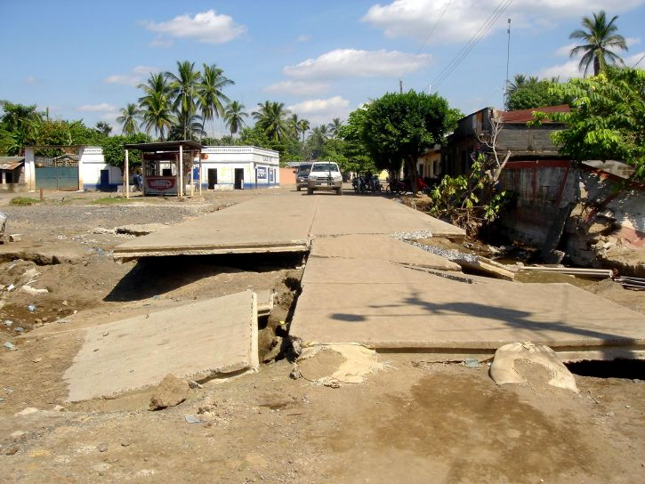 Guatemala, kasırga, stan, özellik, hasar