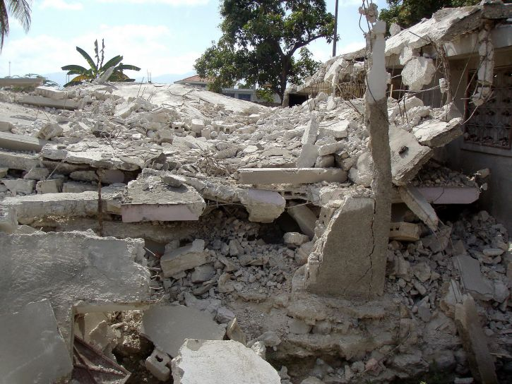 Haiti, math, 2010, jordskjelv