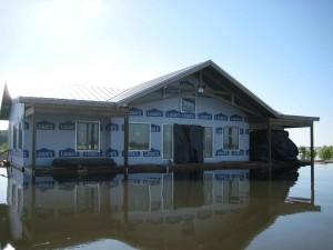 ház, árvíz