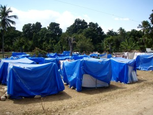 internal, displaced, persons, camp, acted, makeshift, housing