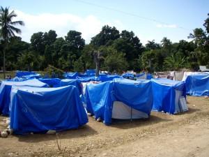 interne, déplacés, personnes, camp, a agi, de fortune, de logement