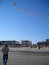 recreation, beach, kite