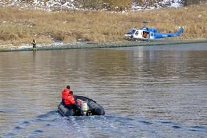 sauvetage, opération de sauvetage Boath, hélicoptère