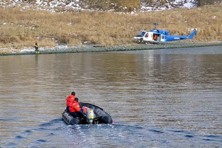Záchrana, operace, boath záchranné helikoptéry