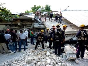 search, rescue, personnel, helping, Haiti, earthquake