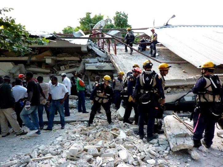 pretraživanje, spašavanja, osoblje, pomaganje, Haiti, potres