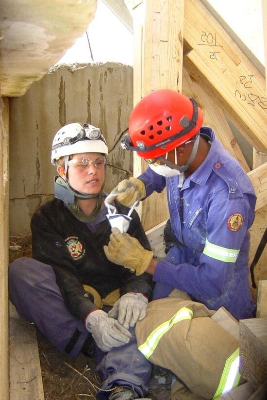 search, rescue, team, simulated, rescue, attempt