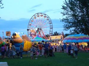 carnival, ferris, wheel