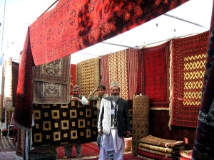 second, annual, carpet, fair, held, Kabul, showcased, best, carpets, rugs, handicrafts
