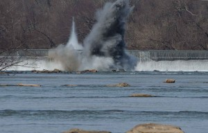 water, dam, explosion, breaking