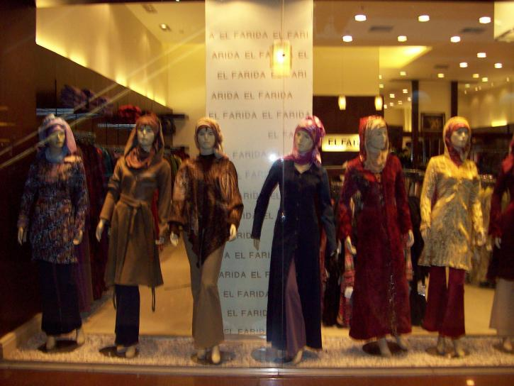 finestra, shopping, Cairo