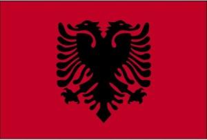 Flagge, Albanien