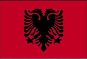 flag, Albania