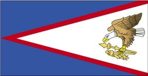 Flagge, Amerikaner, Samoa