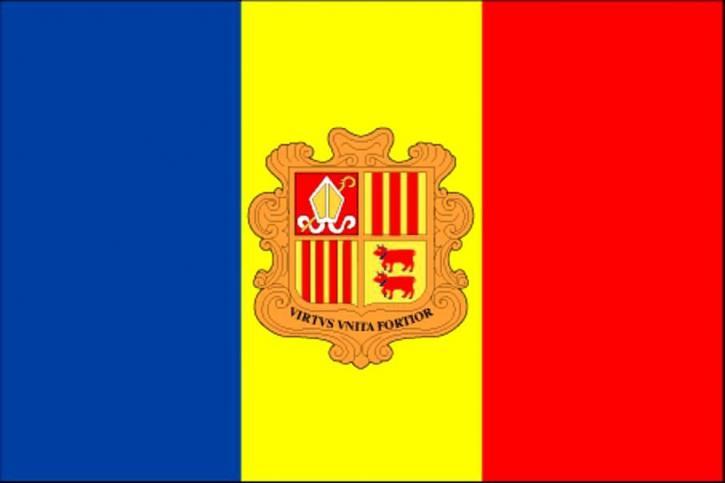 flagg, Andorra