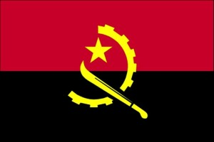 bendera, Angola