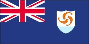 flagga, Anguilla