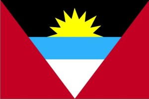 Flagge, Antigua, Barbuda