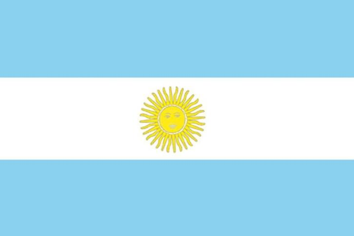 zászló, Argentína
