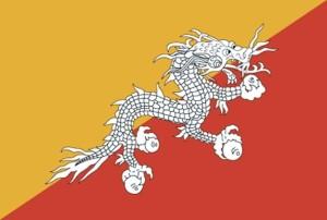 flag, Bhutan