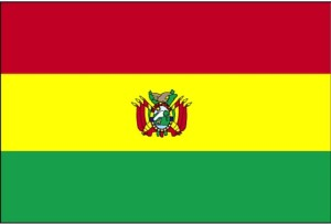 drapeau, Bolivie