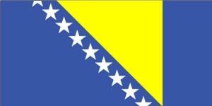 bandiera, Bosnia, Erzegovina