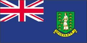 bandera, británico, virginal, islas