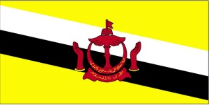 flag, Brunei