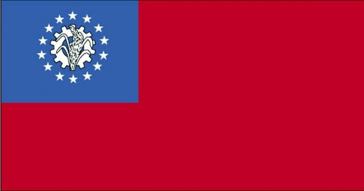 zastava, Burmi